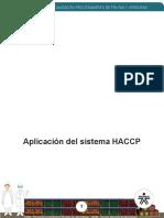 Aplicación del sistema HACCP