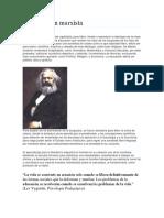 La Educación Marxista