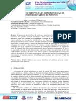 KIT DIDÁTICO FLEXÍVEL PARA EXPERIMENTAÇÃO DE CONVERSORES ESTÁTICOS DE POTÊNCIA