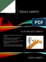 5° ppt Teísmo Abierto.pdf
