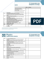 AQA physics students book answers