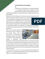 Sector Industrial en Guatemala