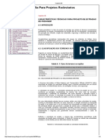 Capitulo 06 - Características Técnicas Para Projetos