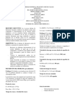informe hidrailica