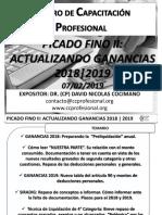 Picado Fino II Actualizando Ganancias 07.02.2019 Bn