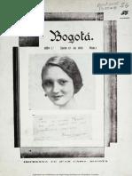 Revista Bogotá 1932