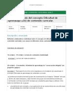 M4.703 20151 821254 Pec1.SignificadoDelConceptoDificultadDeAprendizaje(Da)DeContenidoCurricular.