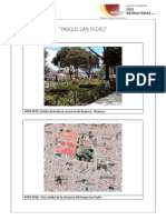 5. Panel Fotográfico- Parque San Pedro- Huánuco