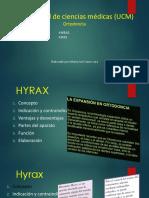 Hyrax y Hass.pptx