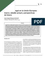 Marques de Almeida, José Joaquín - La Auditoría Legal en La UE