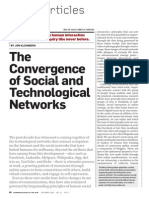 Social and Techological Networks