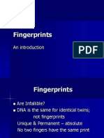 Finger printing notes