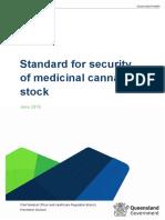 Med Cannabis Stock Security