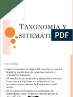 Taxonomia y Sitematica