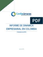 Informe dinamica empresarial