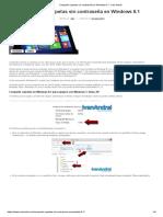 Compartir Carpetas Sin Contraseña en Windows 8.1 - Iván Andréi