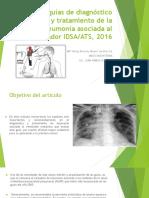 Nuevas Guías de Diagnóstico y Tratamiento de La NAV