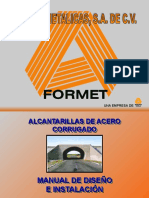 MANUAL FORMET ALCANTARILLAS