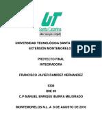 Proyecto 3 Francisco Ramirez