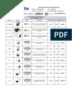 Lista de Precio Visiontechnology 23-10-2018