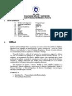 CS-618 - Fisiopatología - Medicina Humana
