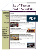Ward 5 Newsletter - JULY 2019