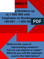 Visualizing Numbers up to 1 000 000 with Emphasis on Numbers 100 001 – 1 000 000.pptx