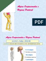 AlgiasOcupacionales e Higiene Postural
