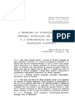 SILVA, M. M. O problema da fundação de uma Terceira Navegação em Agostinho..., 2005. [Manuel Moreira da Silva, Diadochus Speculativus].