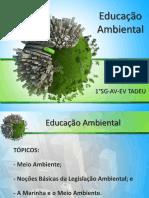 Palestra Educação Ambiental CIAAN