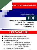 1. Hakikat Ilmu Pengetahuan