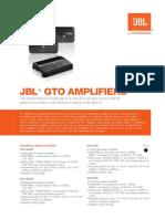 Ampli gto 804 jbl
