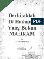 Berhijablah di Hadapan yang Bukan Mahram