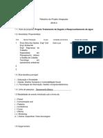 Modelo Para o Relatório Do Projeto Integrador