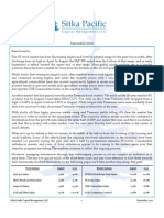Sitka Pacific Capital Management September 2010 Client Letter