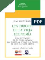 Los Errores de La Vieja Economía -Juan Ramón Rallo
