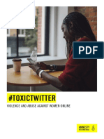 Aireport Toxictwitter Violence and Abuse Against Women Online