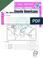 El Continente Americano Para Quinto de Primaria (1)