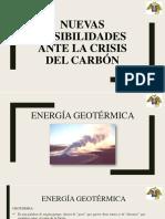 nuevas posibilidades ante la crisis del carbon