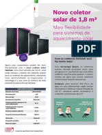 Folheto Coletor Solar MC18