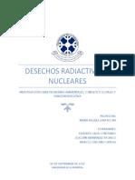 Naturaleza y Sociedad Desechos Radiactivos