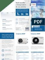 Folheto Bomba Calor Piscina Compress2000P Bosch