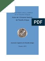 Actas II Simposio Nacional de Filosofia Antigua