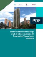 CR1032017 Modelo Riego Lavado Sector Inmobiliario 2017