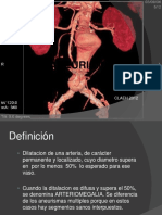 Clase 16 - Aneurismas de Aorta.pptx