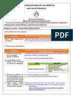 Modelo de Matriz de problematica de tesis