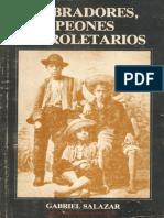 Salazar Gabriel Labradores Peones y Proletarios