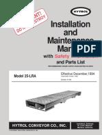 Conveyor Hytrol 25LRA.pdf