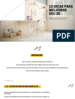 15 dicas pra melhorar seu 3d