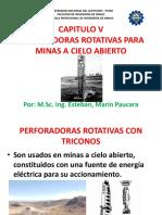 CAPÍTULO V (PERFORADORAS ROTATIVAS CON TRICONO).pptx